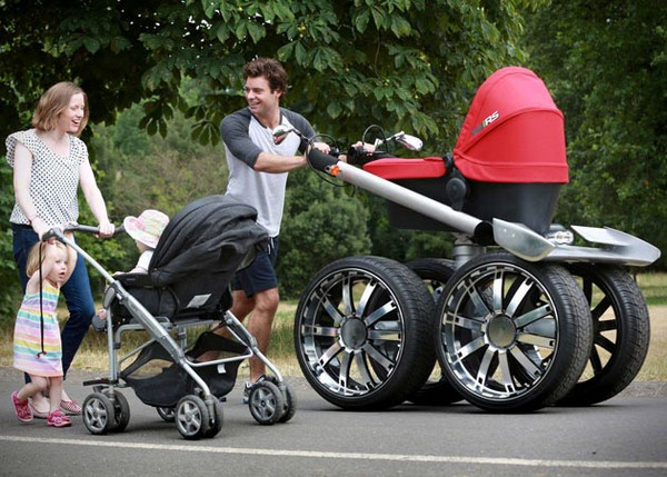 Baby Stroller – Monster Truck для самых маленьких