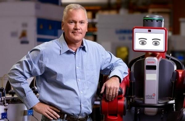 Baxter – дешевый робот, который изменит лицо современной промышленности