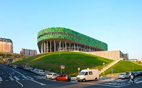 Bilbao Arena – «зеленая» баскетбольная арена в Бильбао