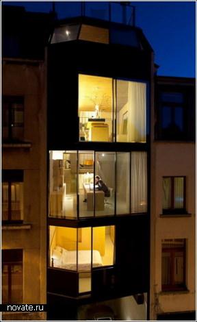 Самый маленький четырехэтажный дом