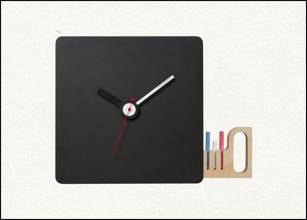 Настенные часы для рисования мелками