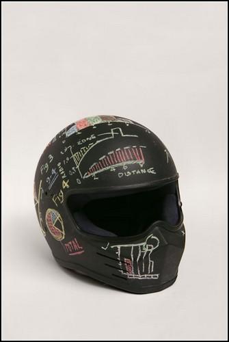 Мотоциклетные шлемы для рисования мелками