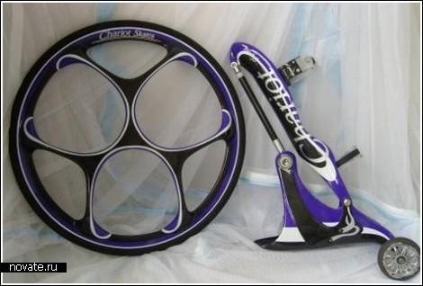 Роликовые коньки с большими колесами