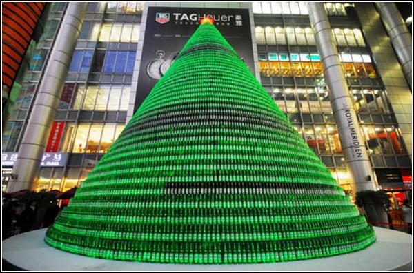 Рождественская елка Heineken