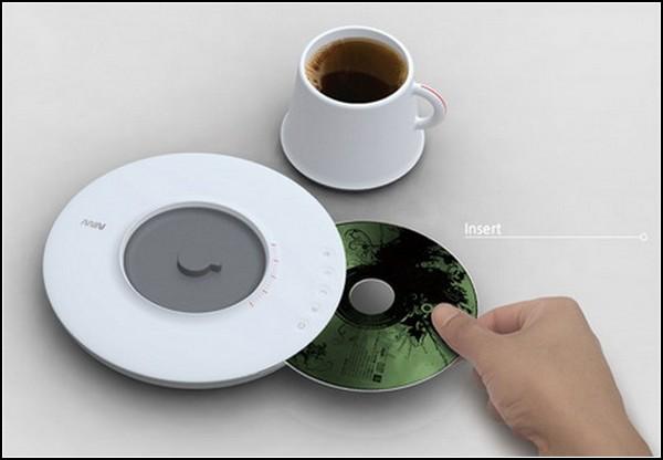CD-плеер для кофейного столика