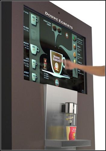 Интерактивный кофейный аппарат