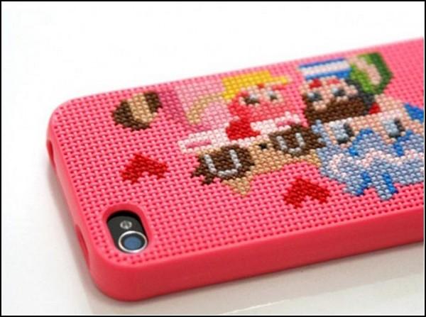 Чехол DIY iPhone Case для любителей вышивать