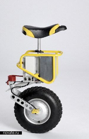 Мотоцикл с одним колесом