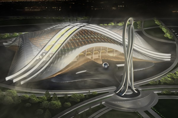 Новый стадион для клуба шахтер