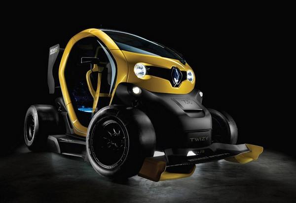 Renault Twizy Sport F1 – уличный электромобиль с технологиями из Формулы 1