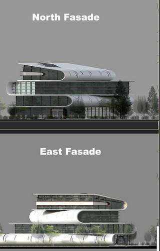 Проект библиотеки для города Тэгу от Семена Болотника