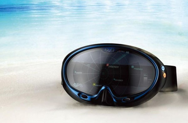 Маска для дайвинга Smart Swimming Goggles