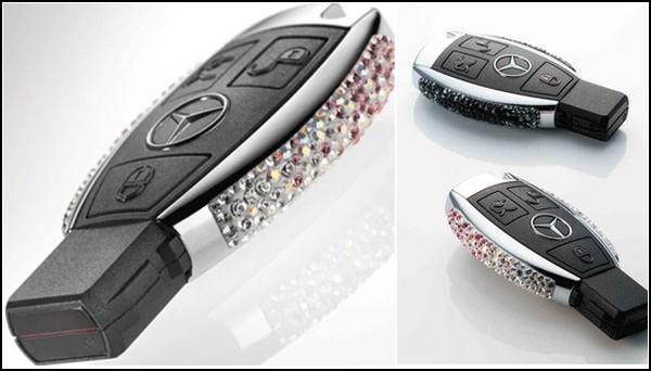 Ключ от Mercedes-Benz со Swarovski