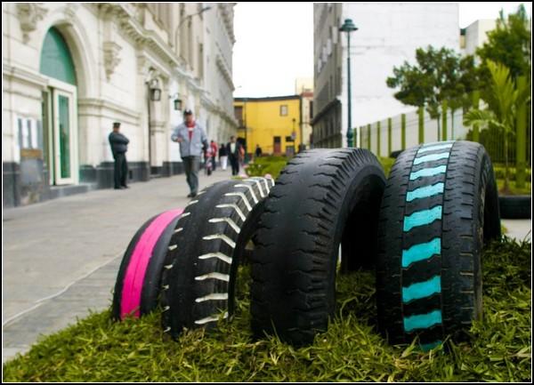 Зеленое вторжение на улицы Лимы