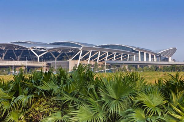 Guangzhou South Railway Station – железнодорожный вокзал, сделанный по принципу аэропорта