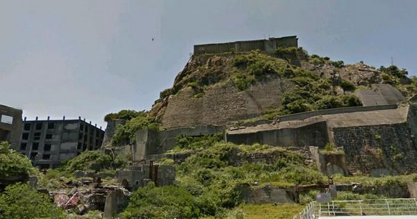 Гункандзима – легендарный японский остров-призрак на Google Street View