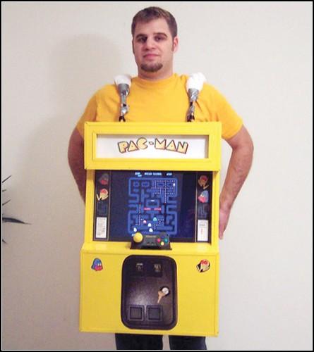 Костюм Pac-Man для Хэллоуина