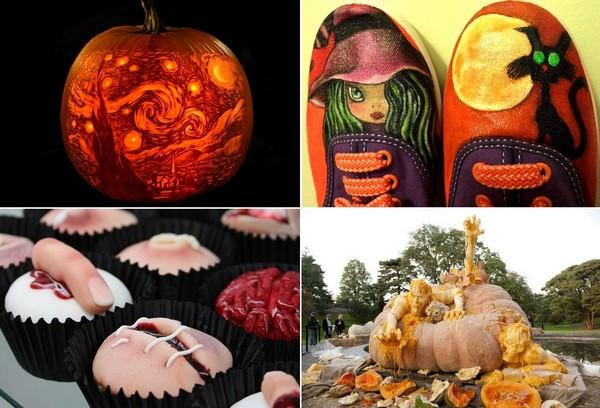 Самый необычный дизайн на тему Хэллоуина