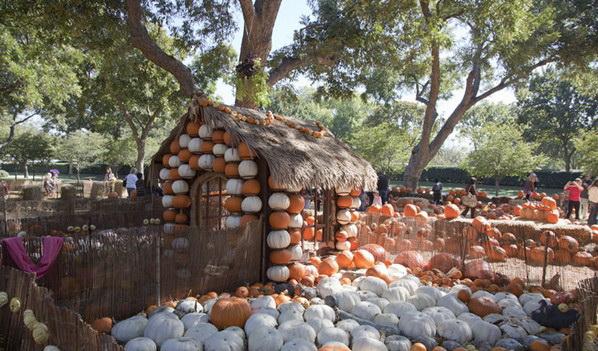 Деревня для Хэллоуина