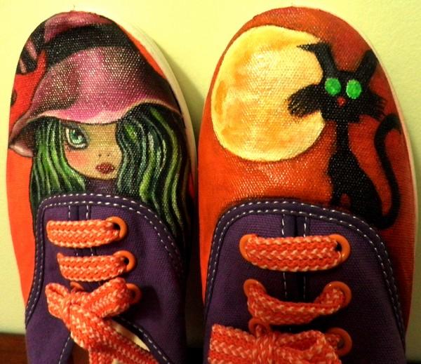 Обувь для Хэллоуина