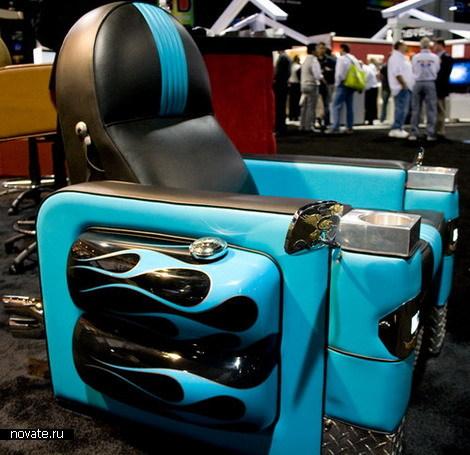 Домашнее кресло от Harley-Davidson