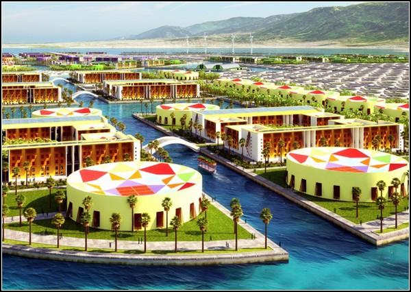 Плавающий город для Гаити