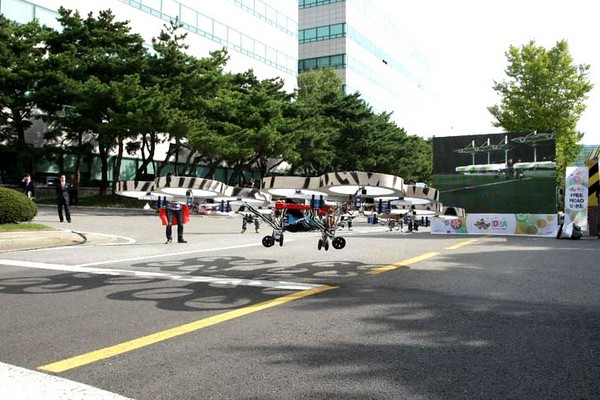 Пробкам назло: летающий автомобиль от Hyundai