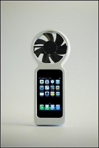iFan: как зарядить телефон силой ветра