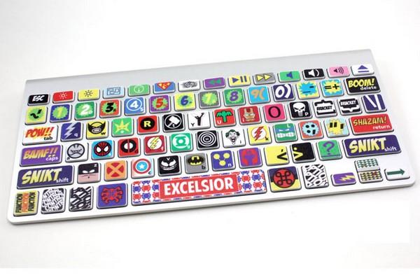 Клавиатура для MacBook с любимым супергероями