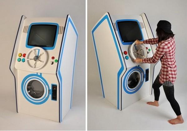 Laundry Arcade – стиральная машина с игровым автоматом