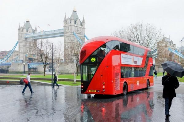 Гибридный даблдекер – «зеленое» украшение улиц Лондона