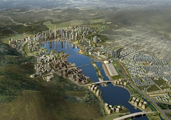 Meixi Lake City — китайская Венеция