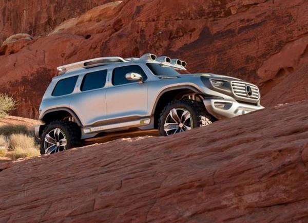 Mercedes-Benz Ener-G-Force — патрульный автомобиль будущего, работающий на водороде