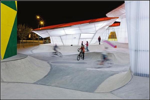 Спортивный парк Factoría Joven Skate Park