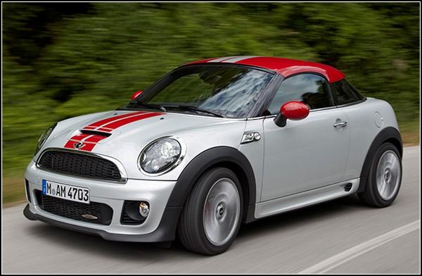 Mini Cooper Coupe: подарок для фанатов маленького, но симпатичного автомобиля