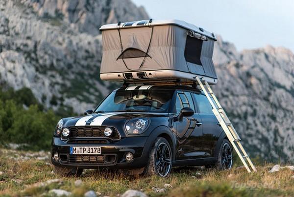 Mini Countryman ALL4 Camp – автомобиль с жильем на крыше