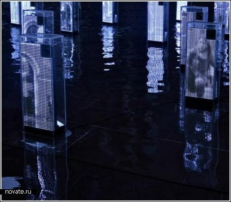 Цифровые зеркала в Музее Виктории и Альберта