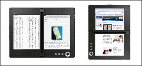 Двойной планшет от NEC