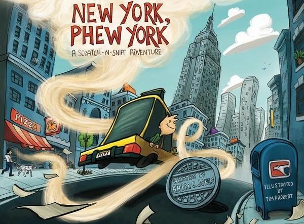 New York, Phew York – книга о Нью-Йорке, которая пахнет