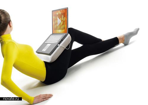 Говорящая подушка для ноутбука