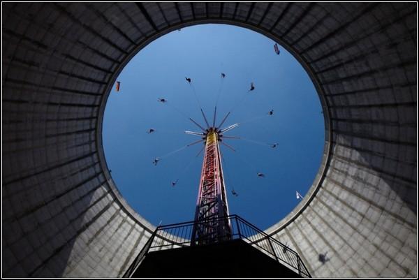 Парк развлечений Wunderland Kalkar в атомной станции