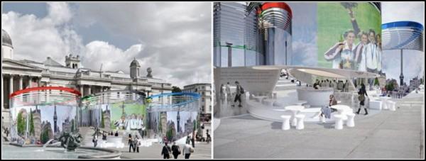 Солнечный павильон для Олимпийский Игр в Лондоне