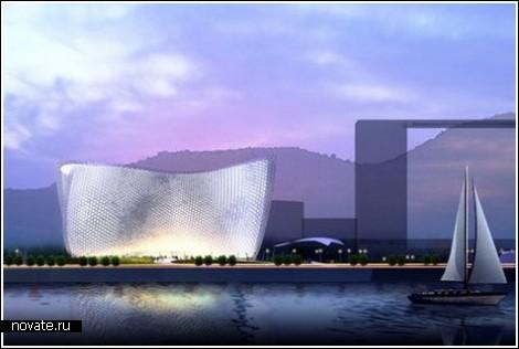 Коралловый оперный театр в Китае