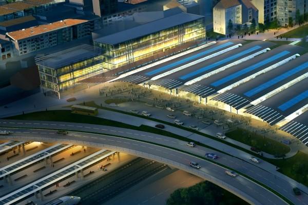 Новый вокзал в Оренсе от Нормана Фостера