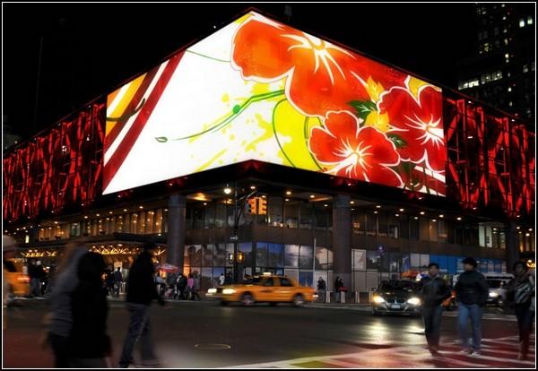 Медиафасад – новое лицо автовокзала в Нью-Йорке