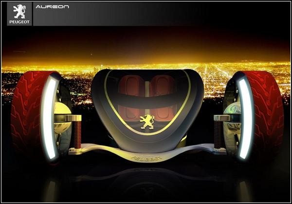 Городской болид Peugeot Aureon