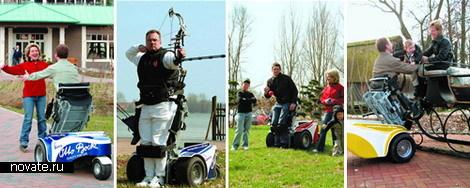 Гольф-машина для инвалидов