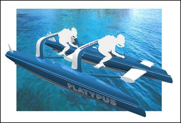 Простая и доступная подводная лодка Platypus