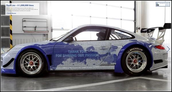 Автомобиль Porshe на миллион имен