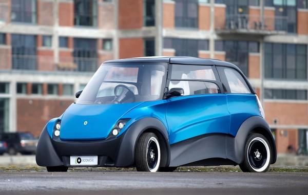 QBEAK — электромобиль с запасом хода 300 километров и перспективной на 800